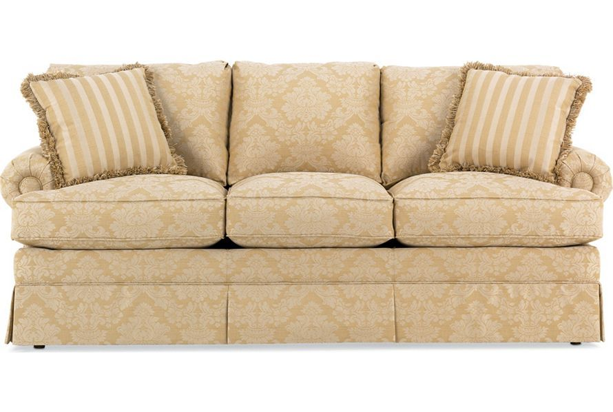 Drexel Heritage Upholstery   Holloway Sofa (Body: A6186 87, Pillows: A7815