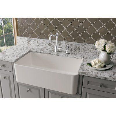 Blanco Cerana Ii 33 L X 19 W Farmhouse Kitchen Sink Farmhouse