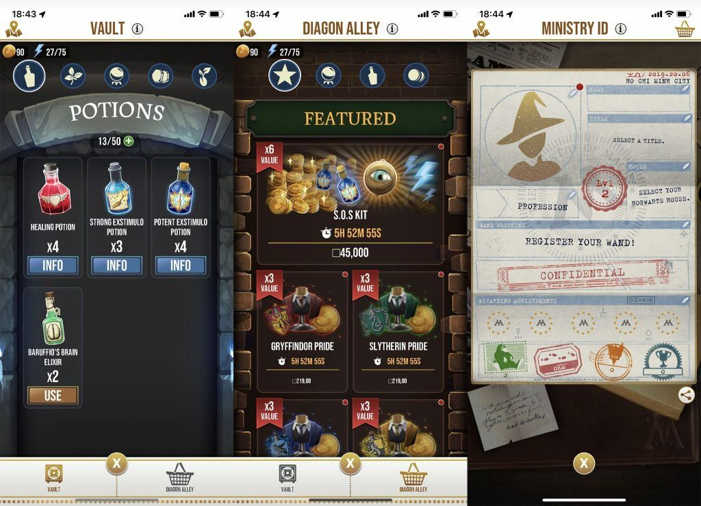 Wizards Unite Apk V2 Zero 1 Obtain For Android Harry Potter Wizard Game Reviews Game Guide