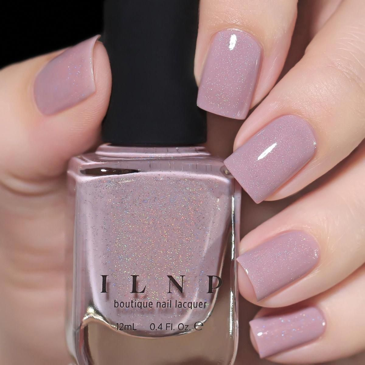 Internship - Dusty Plum Holographic Nail Polish by ILNP