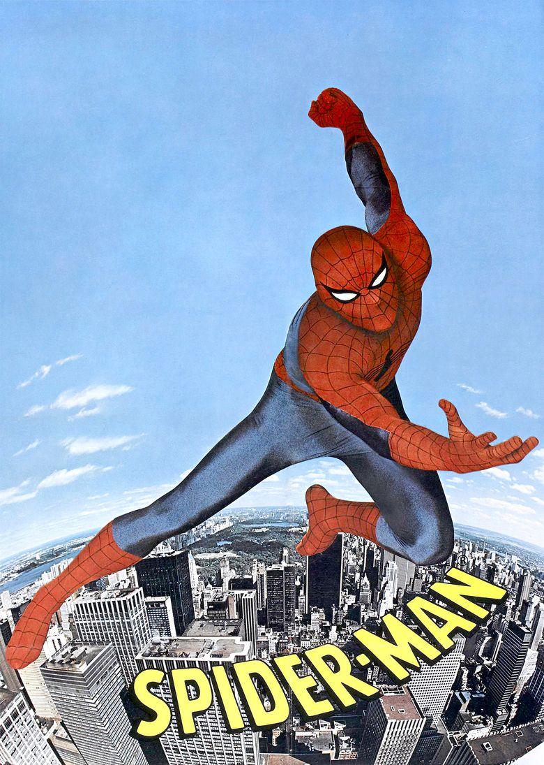 The Amazing Spider Man Live Action Tv Show 1977 1979 Spiderman Superhero Spiderman Man Movies