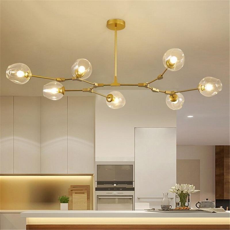 Globe Branching Chandelier in 2020 Kitchen ceiling