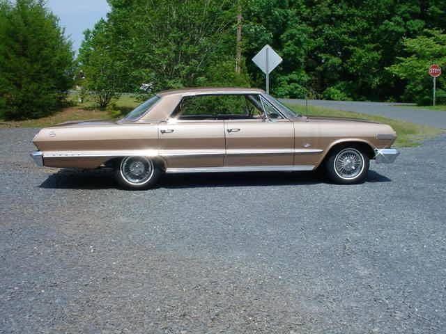 1963 Chevrolet Impala 4 Door Hardtop 327 300hp For Sale 1649456