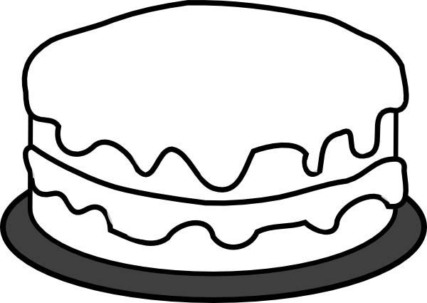 Cheese Cake Coloring Pages Best Place To Color Cake Clipart Colorful Cakes Cake