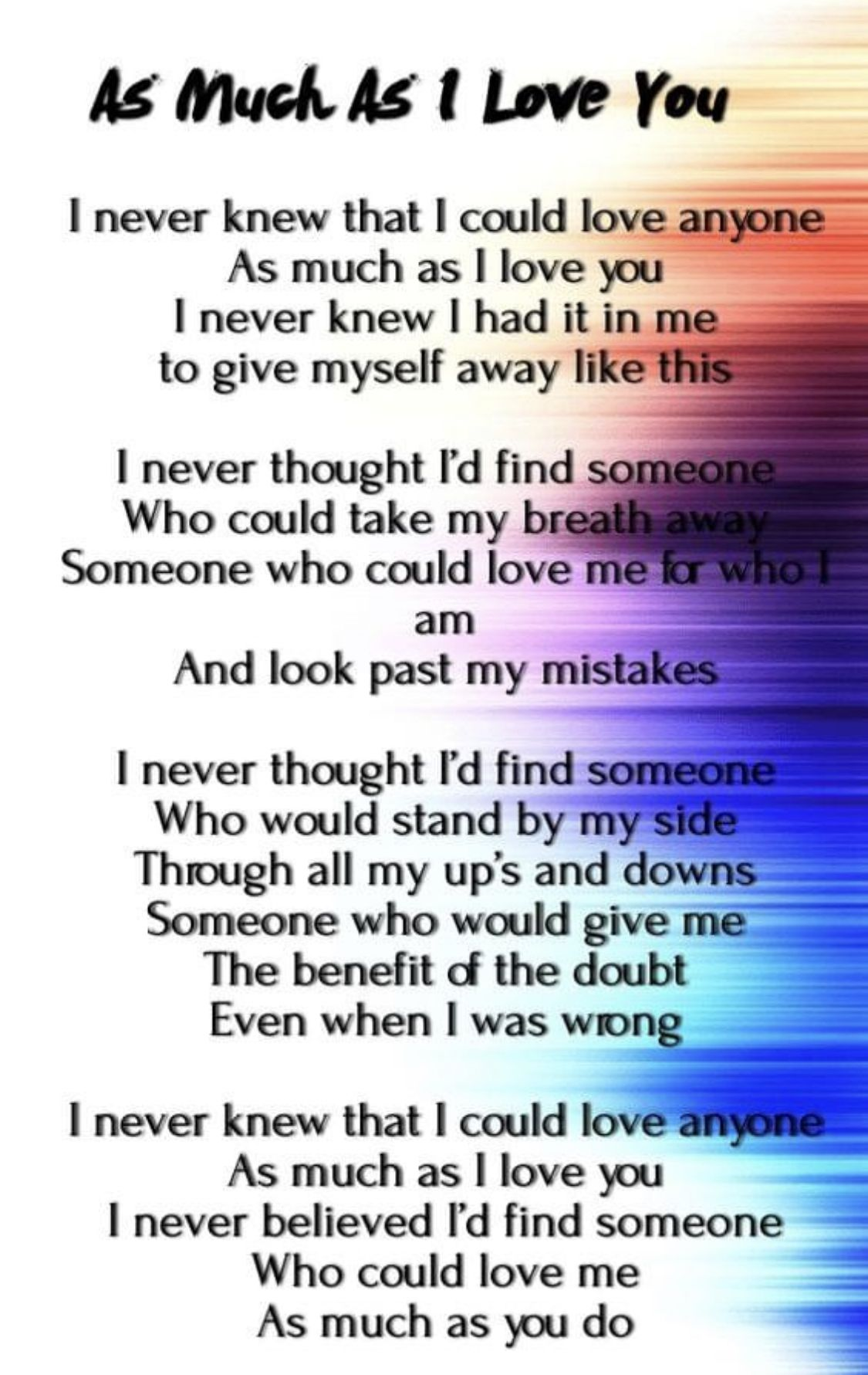 Pin by Beth on Amazing Life Quotes in 2020 | Love poem for