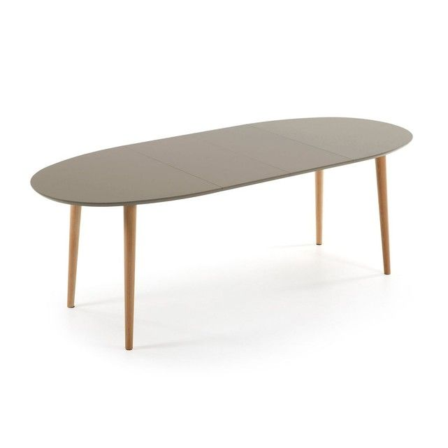 Table Oqui Extensible Ovale 140 220 X 90cm Taille 4 Pers