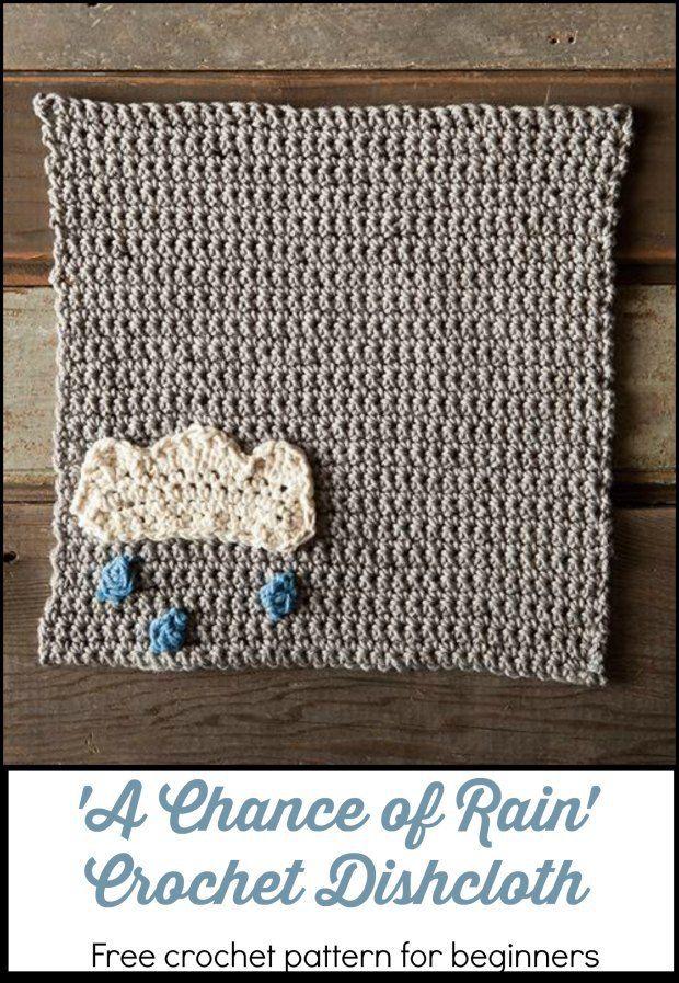 Cute beginner dish cloth pattern. Free crochet pattern for dish ...