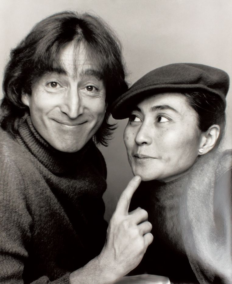 Fiori Yoko Ono.Cultgallery John Lennon Yoko Ono Fotografia Storica John