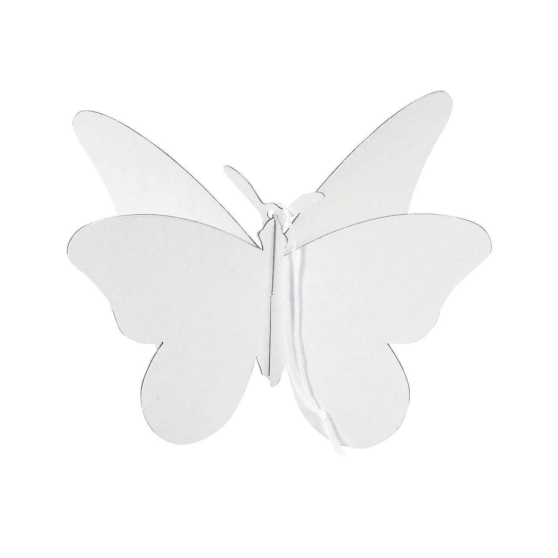 DIY Beautiful 3D Butterfly Ornaments - OrientalTrading.com