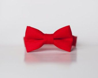 Red Bow Ties for Boys - Red Tie - Baby Bow Ties - Designer ...