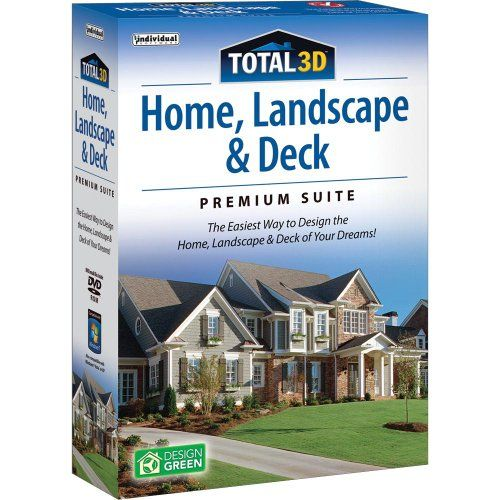 Total 3D Home, Landscape And Deck Suite 12 From Individual