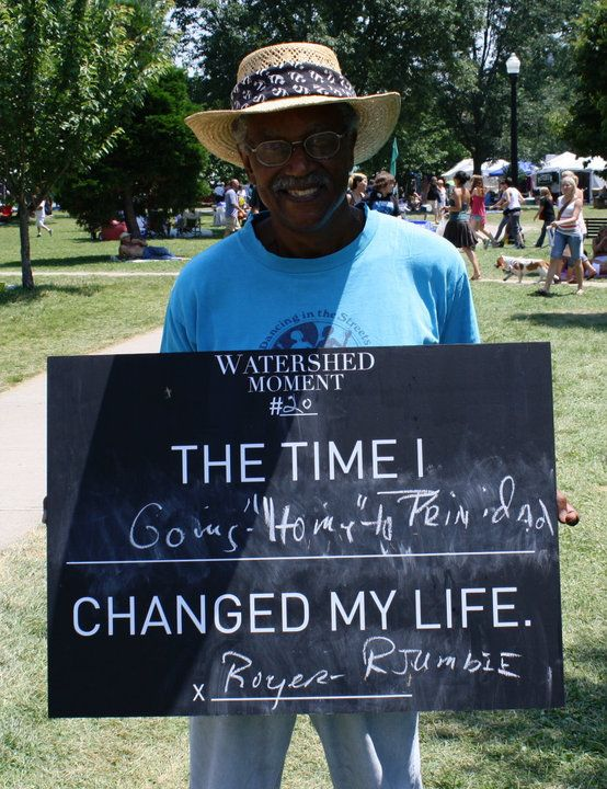 Royed shares his Watershed Moment with us at ComFest.