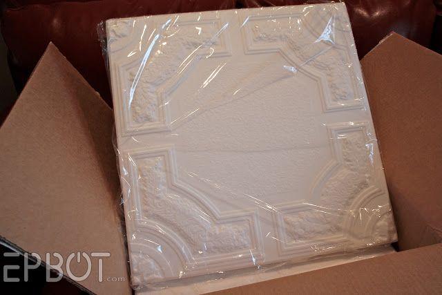 Epbot Tutorial For Using Styrofoam Ceiling Tiles That Go
