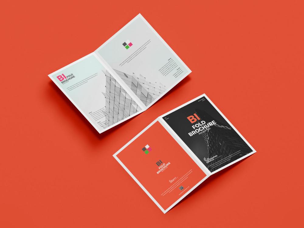 Free Psd A4 Bi Fold Brochure Mockup Design Mockup Planet Bi Fold Brochure Mockup Design Brochure Design Template