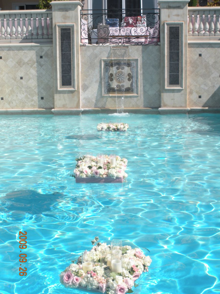 Ever wonder how part 4 floating pool decorations pool