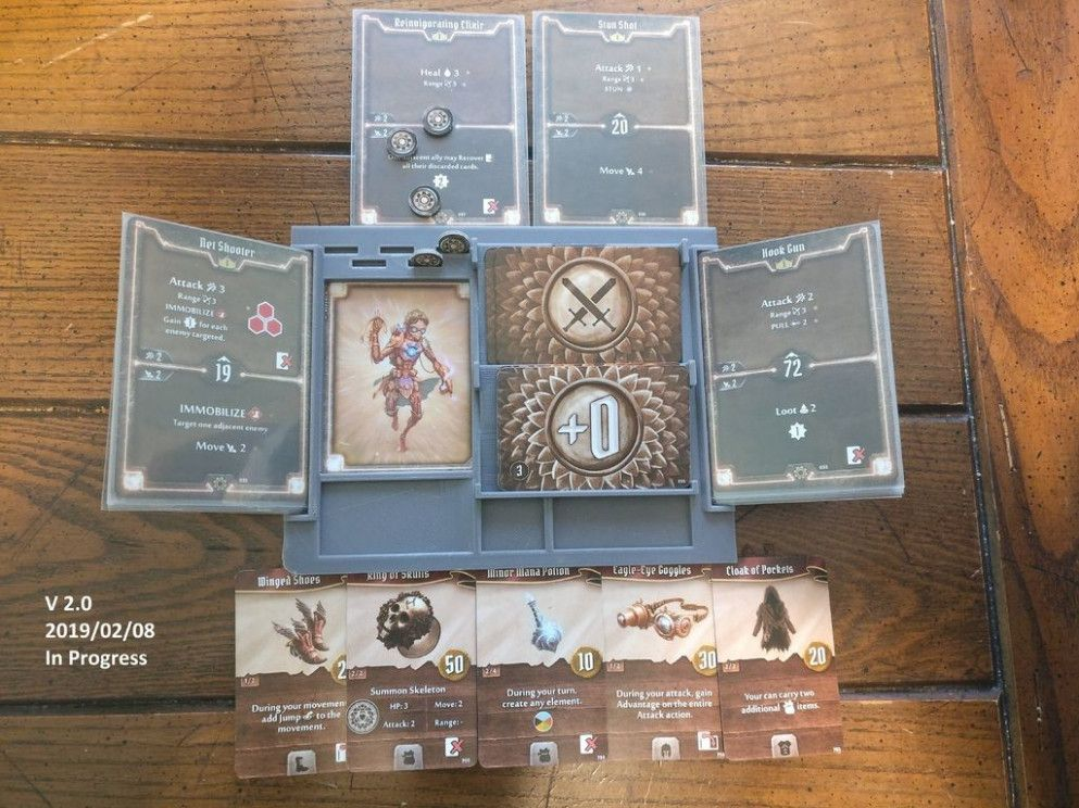 Pin By Sbentleye On Card Ideas In 2020 Board Game Storage Game