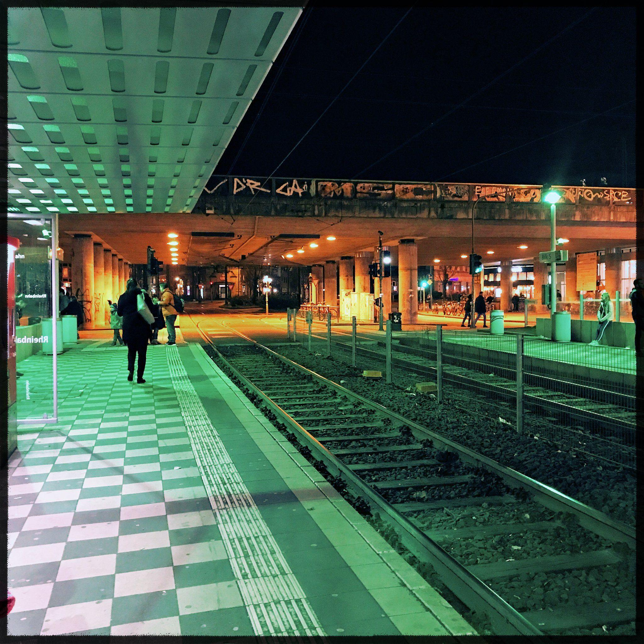 Der Bilker Bahnhof