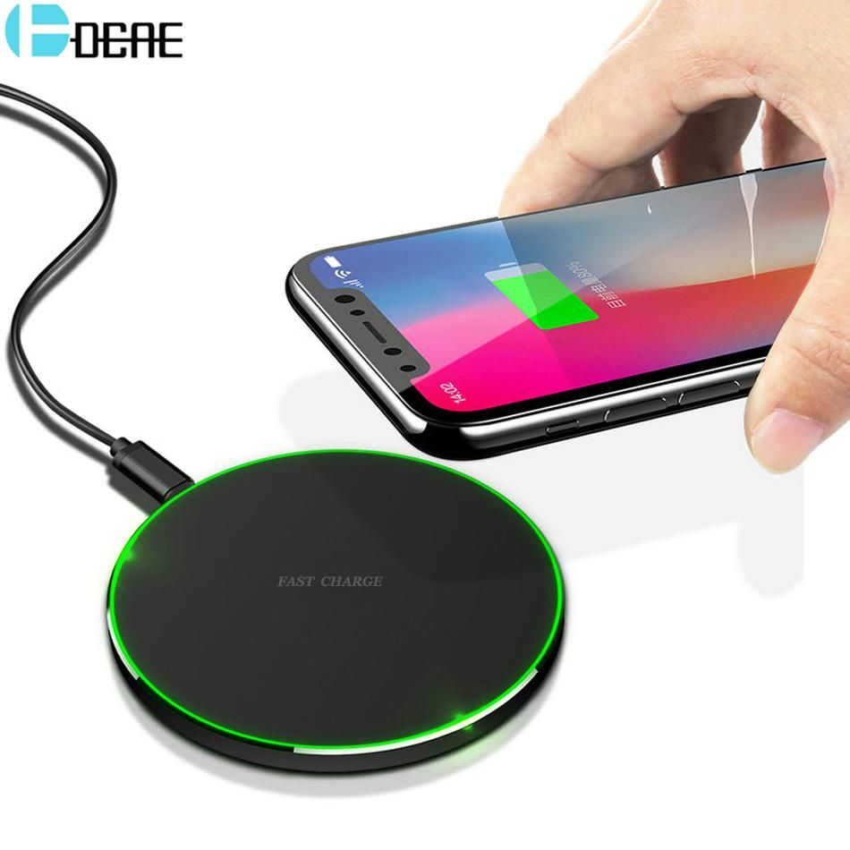 DCAE Qi Wireless Charger Pad for iPhone XS MAX XR X 8 Plus