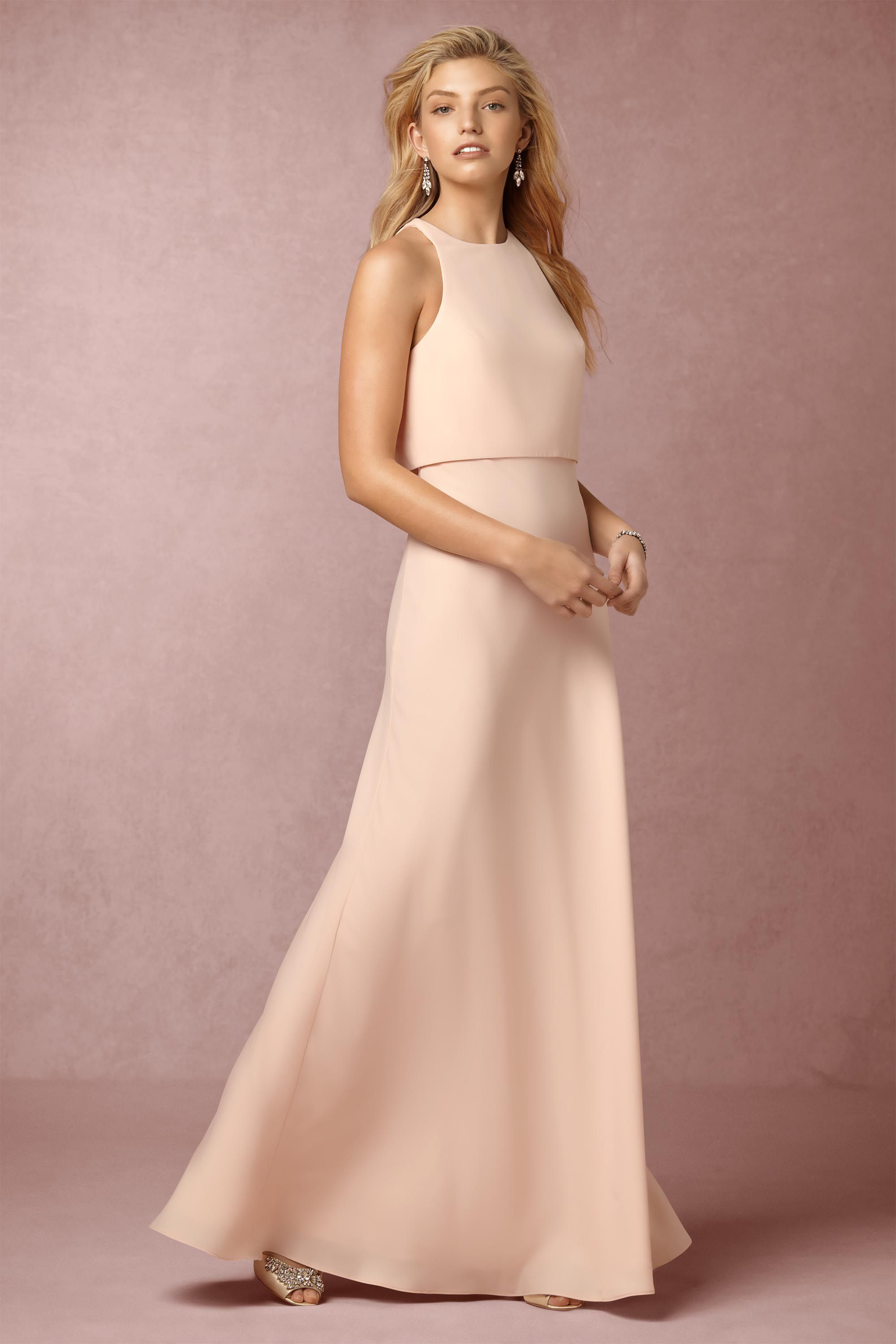 a878d94d7ff BHLDN Iva Crepe Maxi in Bridesmaids Bridesmaid Dresses at BHLDN ...