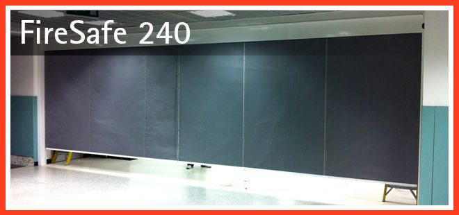 Fire Curtains Automatic 4 Hour Fire Curtains Firesafe 240