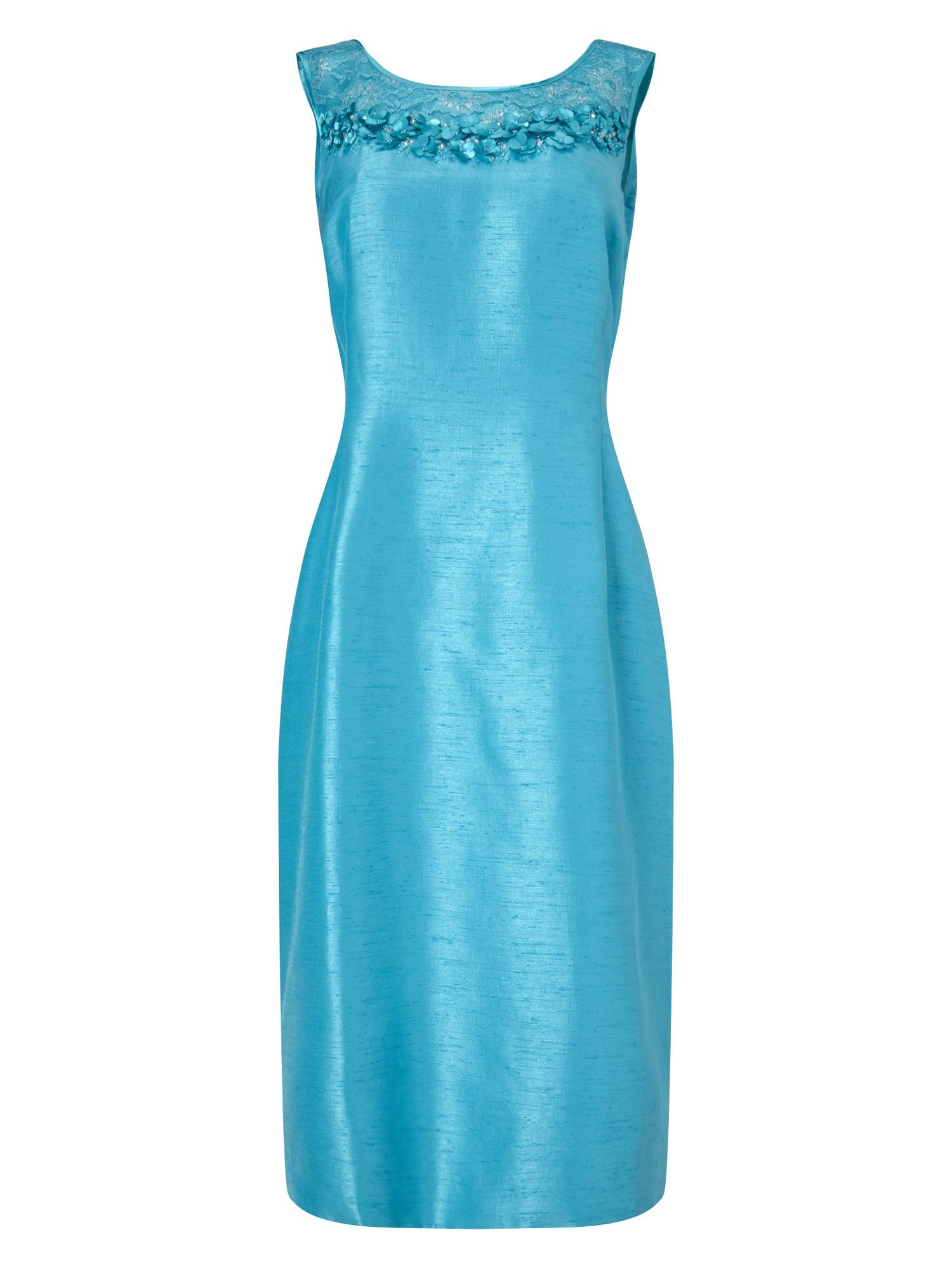 Jacques Vert Embellished Yolk Dress | Spring Wedding Outfits ...