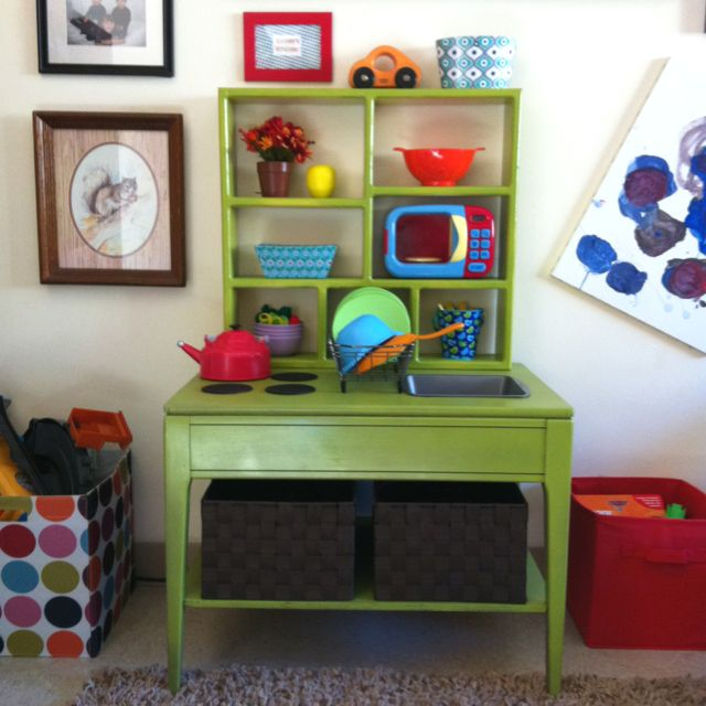 Xavier's Play Kitchen   Play kitchen, Home decor, Decor