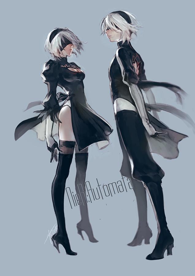Character Design Nier Automata : Nier by yooani viantart on deviantart