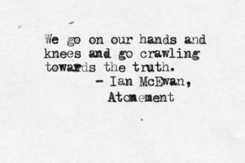 What is the purpose of the island temple in Atonement by Ian McEwan?