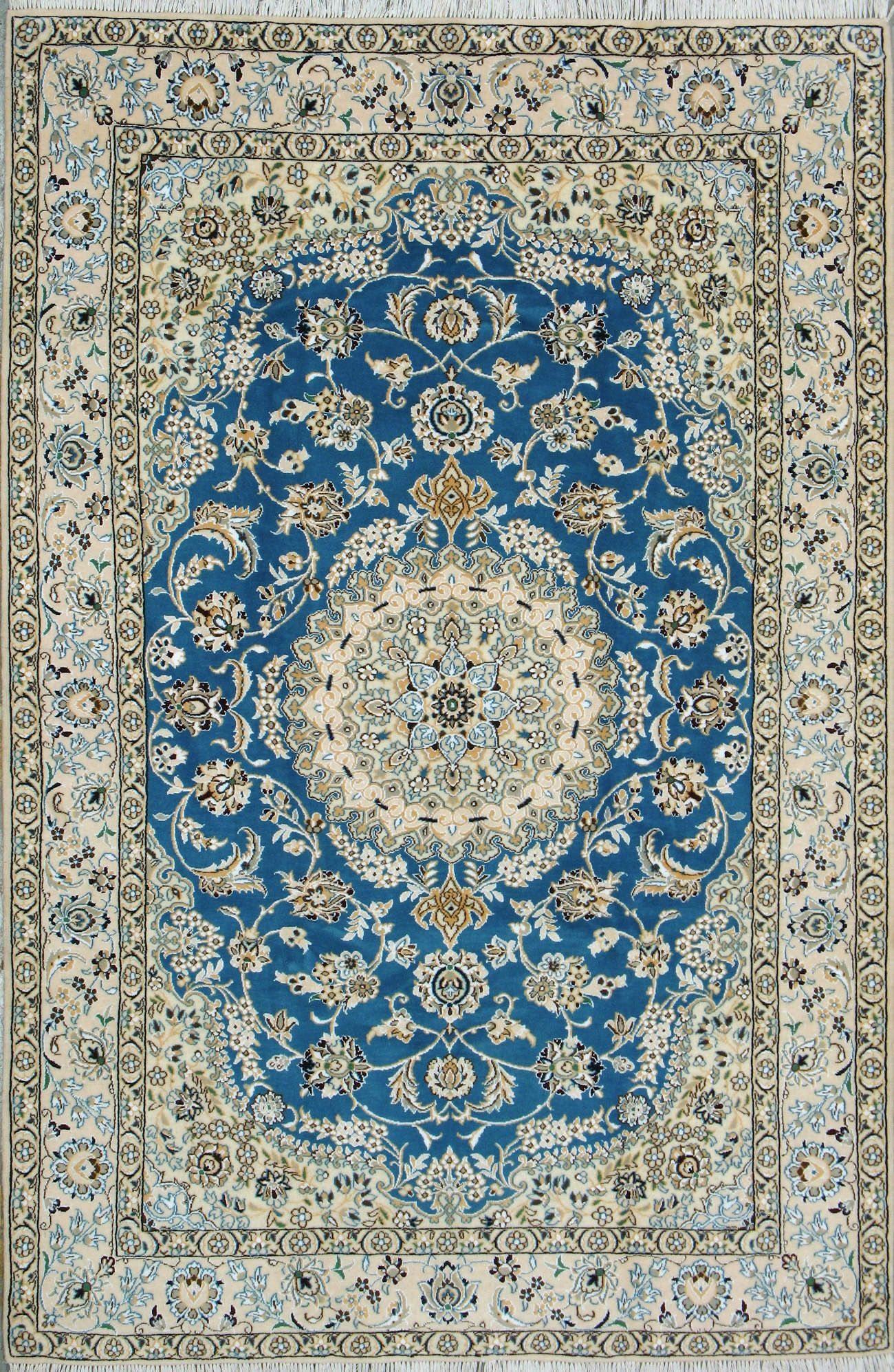 Buy Nain Persian Rug 5\' 1\
