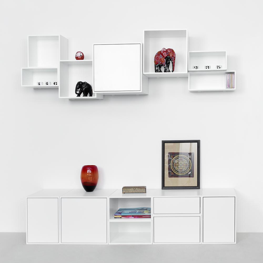 Regalsysteme Als Tv M Bel Shelving System As Tv Furniture  # Meuble Etagere Tv Design Haut De Gamme Media