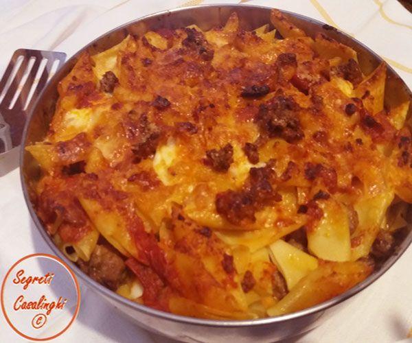 Pasta forno veloce pasta al forno pasta al forno veloce for Ricette primi piatti veloci bimby