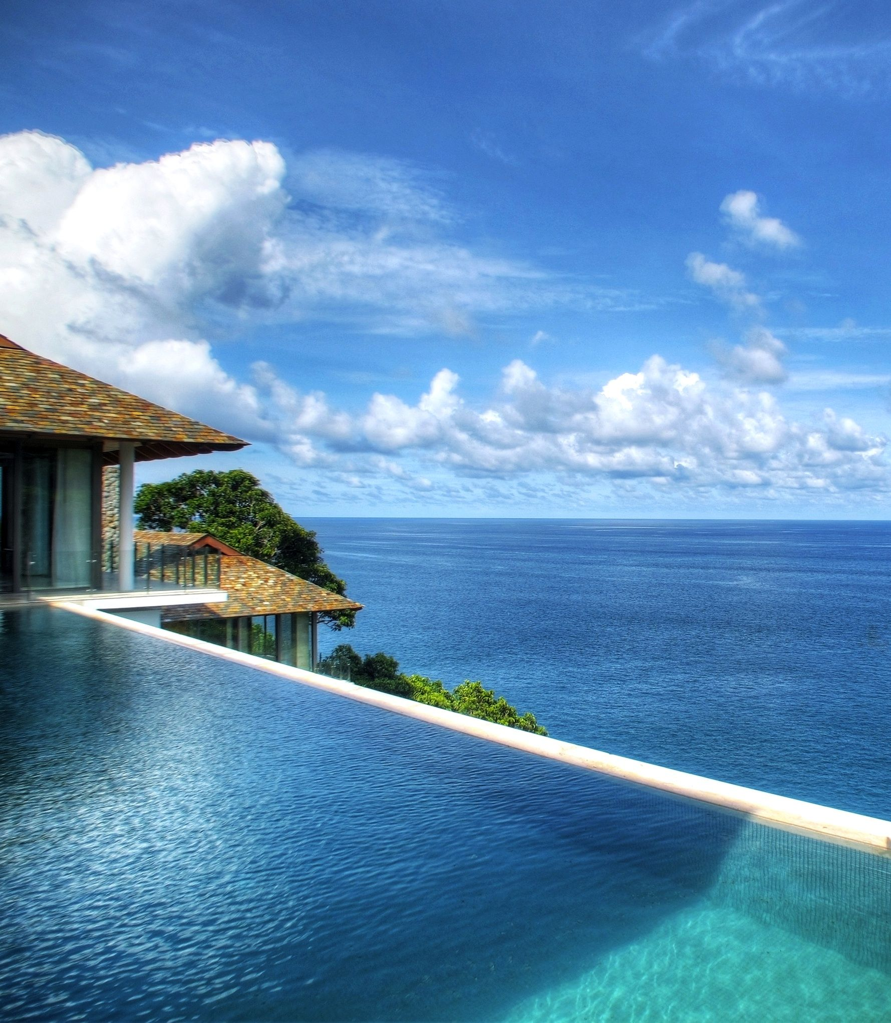 Infinity Pool Over Looking The Ocean Ideas For The House