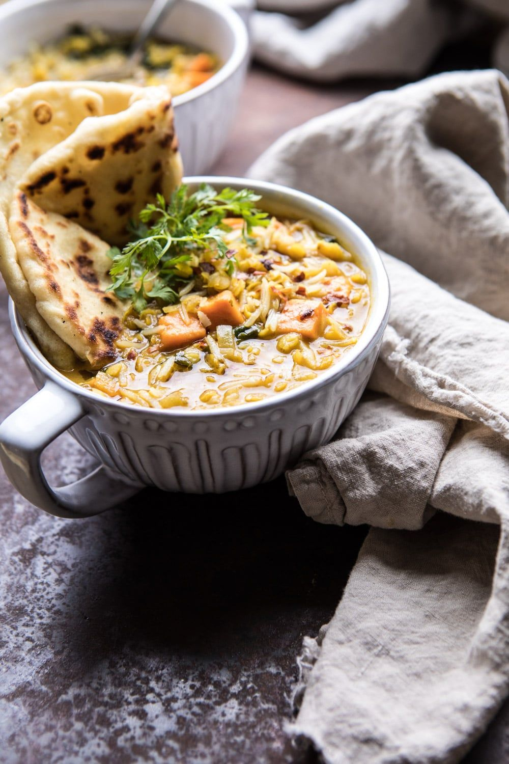 Coconut Sweet Potato Lentil Soup with Rice. – Half Baked Harvest