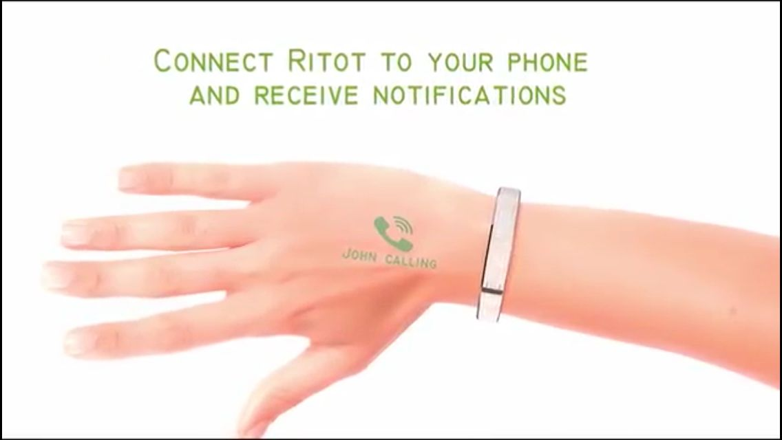 #Ritot sells itself as the first #projection #smartwatch