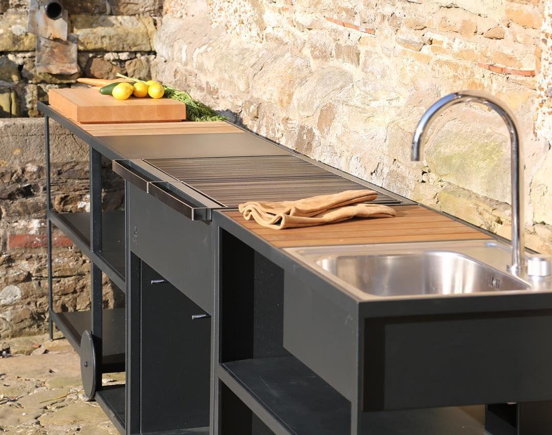 Garden Kitchen Rapshults Garden Kitchen Outdoor Sink By Broberg Ridderstrayenle