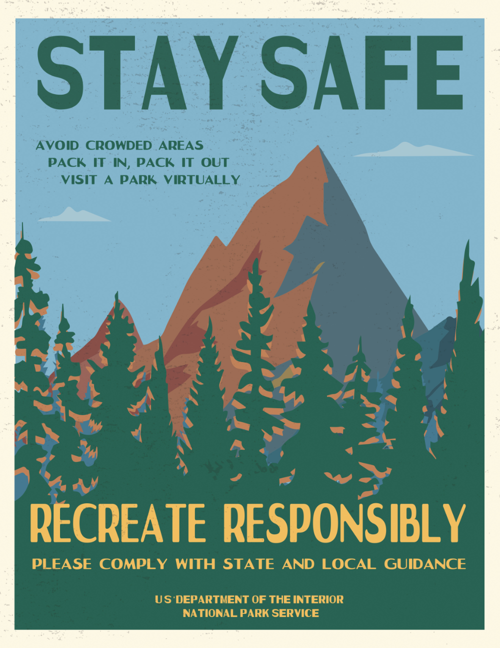 These Awesome And Hilarious Posters Teach Us How To Social Distance Inside National Parks Open To The Public National Park Service National Parks Park Service