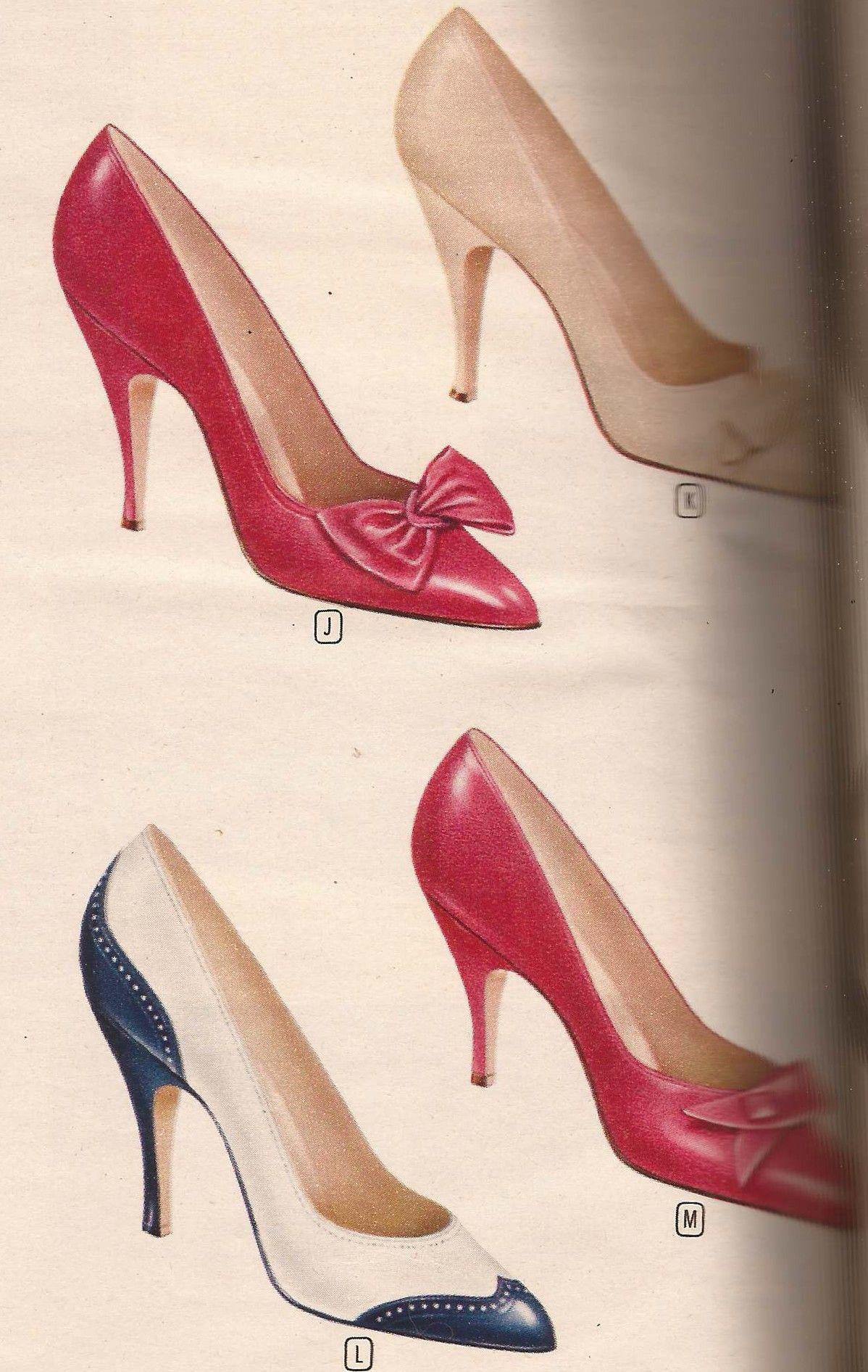 b417e543fc5f 1960 shoes spectator pumps