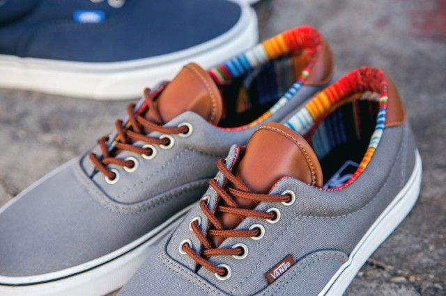 Vans x J.Crew washed canvas authentic sneakers