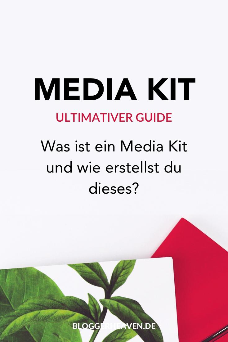 Media Kit Für Blogger Vorlagen Beispiele Bloggen Tipps
