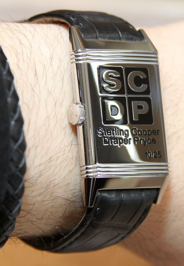 Jaeger-LeCoultre Mad Men Reverso Watch back