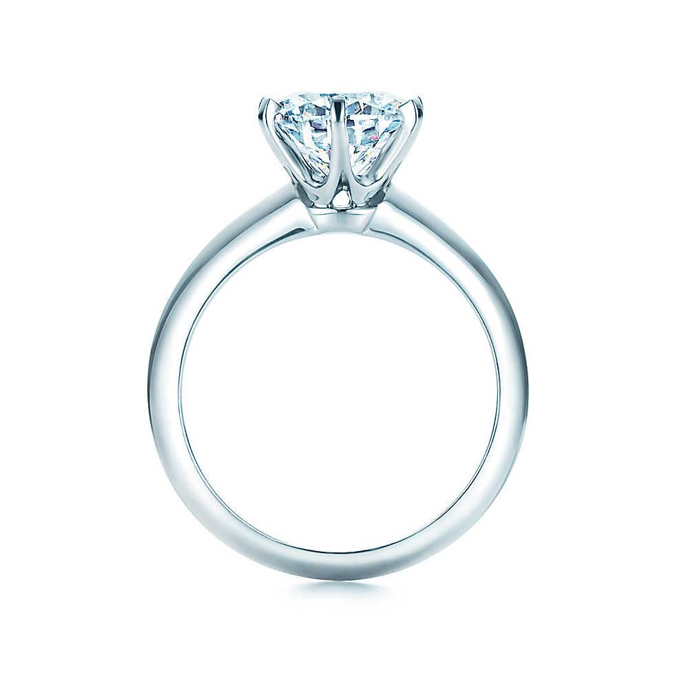 f4ce227f9a768 The Tiffany® Setting Engagement Ring in Platinum | rings | Tiffany ...