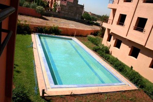Marrakech, appart 84m2 dans une résidence avec piscine Immobilier - location de villa a agadir avec piscine