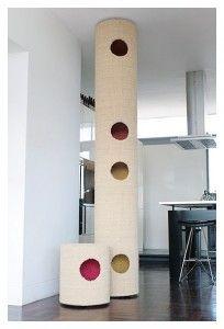 The Hicat Cat Climber Floor Ceiling Made