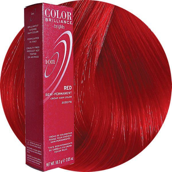 Red semi permanent hair color in  nails pinterest and also rh