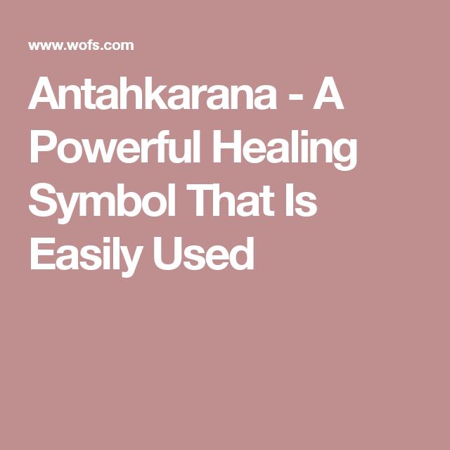 Antahkarana A Powerful Healing Symbol That Is Easily Used