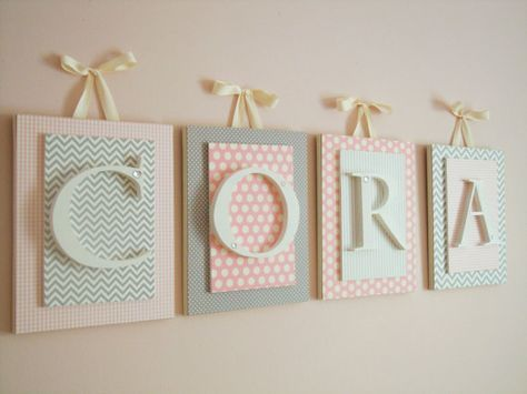 Nursery letters,custom initials,personalized letters,initials,wood