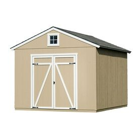 Statesman Gable Engineered Wood Storage Shed Common 10 Ft X 8 Ft Interior Dimensions 10 Ft X 8 Ft Shed Diy Shed Plans Shed Plans