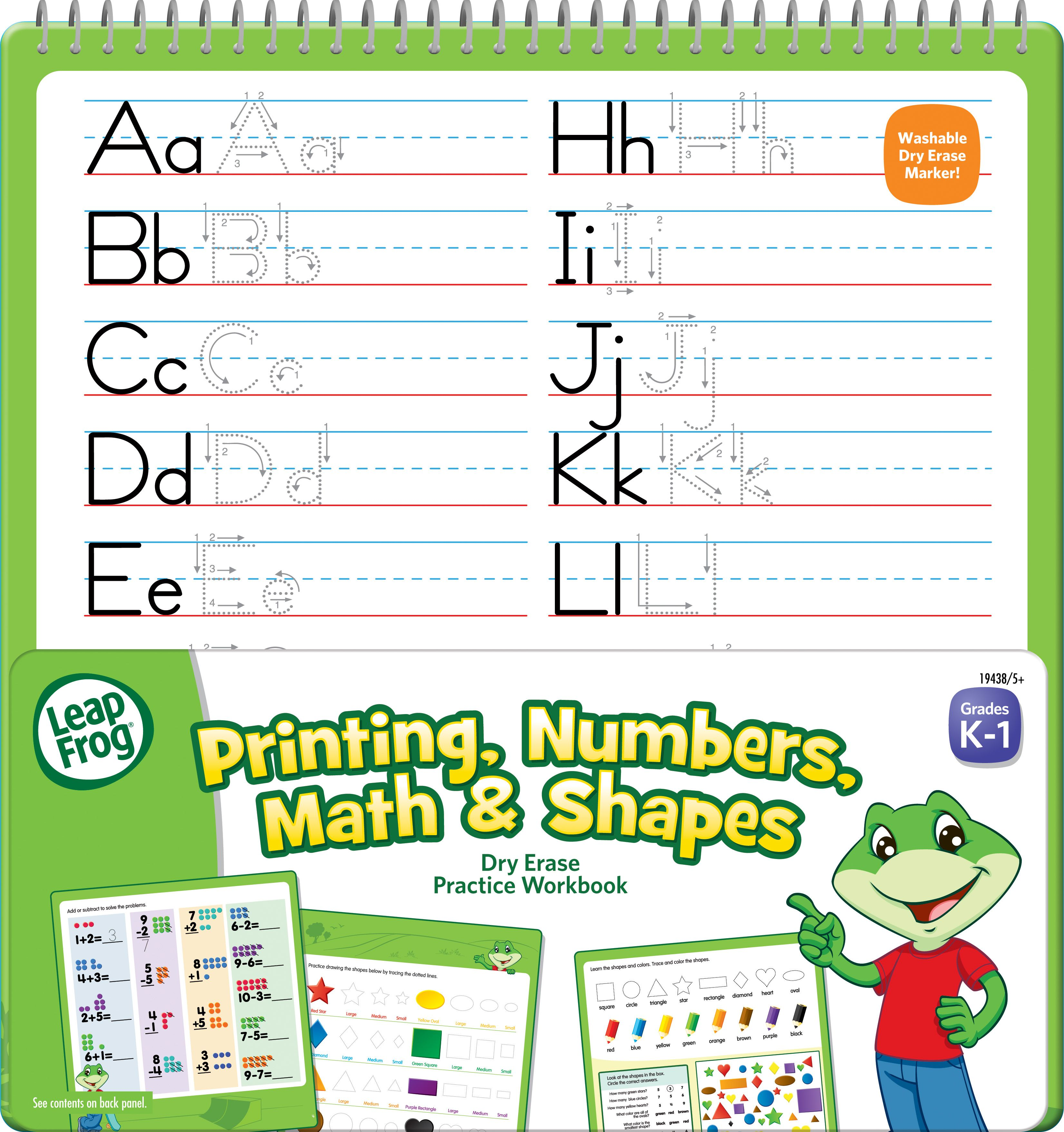 Leapfrog Printing Numbers Math Amp Shapes Is A Large