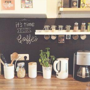 diy wohnen tafelwand f r die k che mit tafelfolie k che pinterest tafel wohnen und kuchen. Black Bedroom Furniture Sets. Home Design Ideas