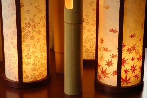 Warmes Licht Und Lampen Lampions Aus Papier Gehören Dazu Decoration Asia